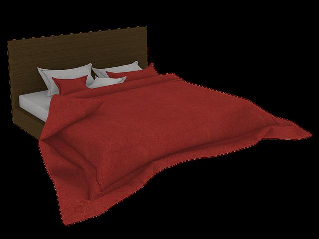 manželská postel ilustrace