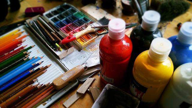 malířské potřeby