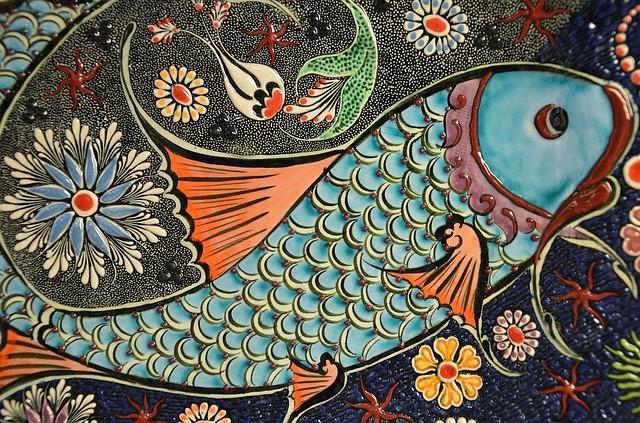 mozaika ryba