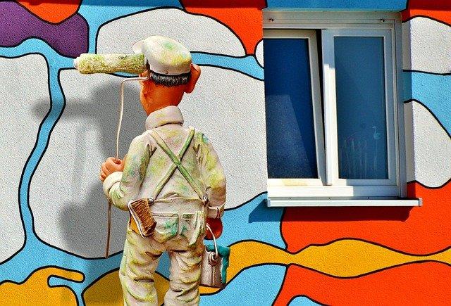 malíř fasády