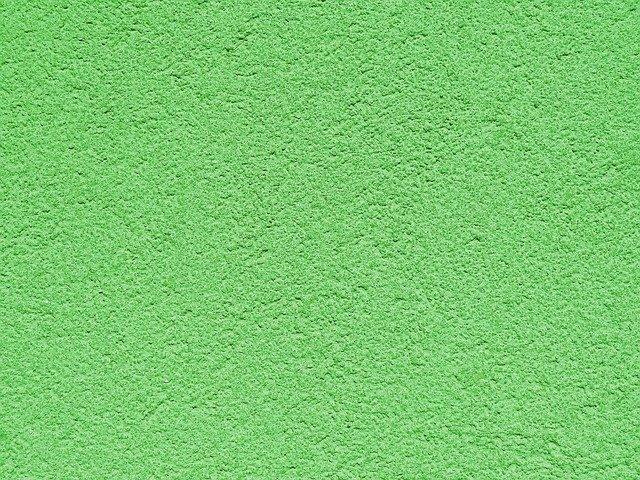 zelená zeď